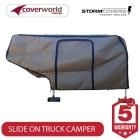 slide on truck camper storm cover