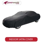 Indoor Car Covers - Soft Stretch Satin