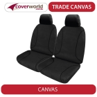 holden colorado (rg) - trade canvas seat covers - dual cab - 9/2014 to current