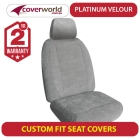 ford escape seat covers - fast shipping perfect fit for seats - luxury soft velour - zc series - 2008 2009 2010 2012