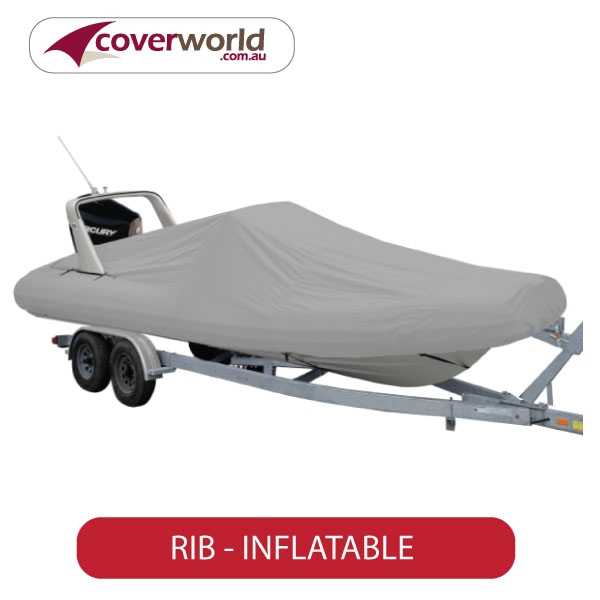 RIB inflatable boat cover