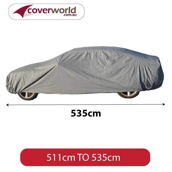Car Cover 535cm Premium