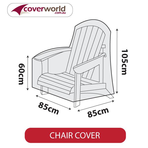 Adirdondack - Cape Cod Chair Cover