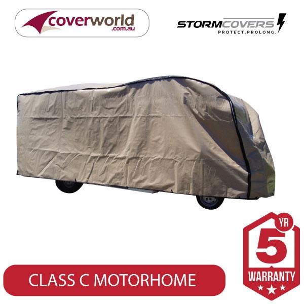 class c motorhome storm cover