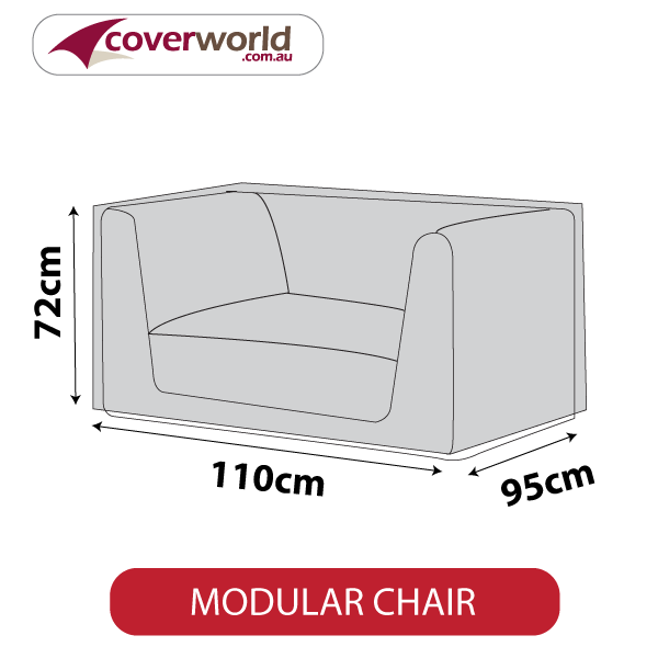 large modular chair cover