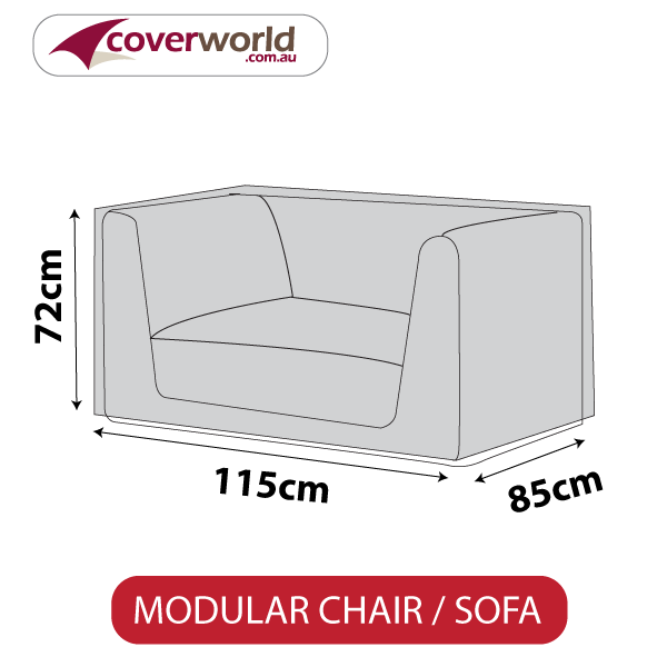 extra large modular chair outdoor weather cover
