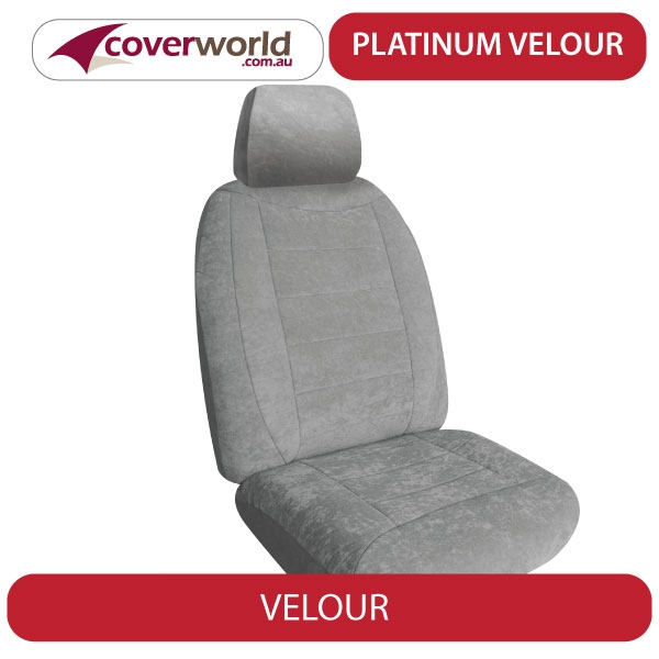 Seat Covers Great Wall - X240 - April 2011 to 2014 - Velour