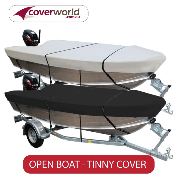 tinny cover, open boat cover by ocean south travel storage trailering cover