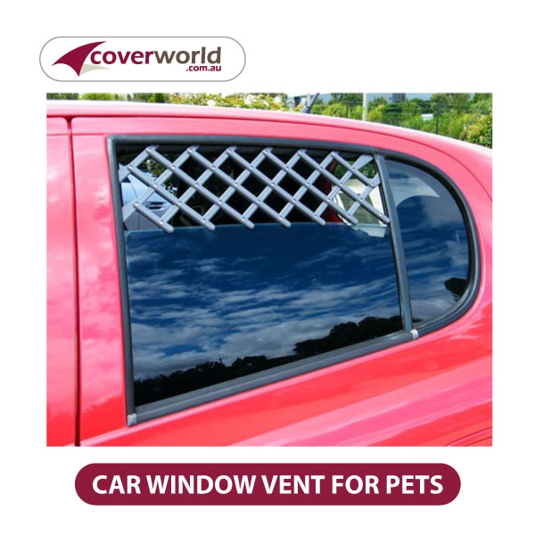 Car Window Vent for Pet Safety