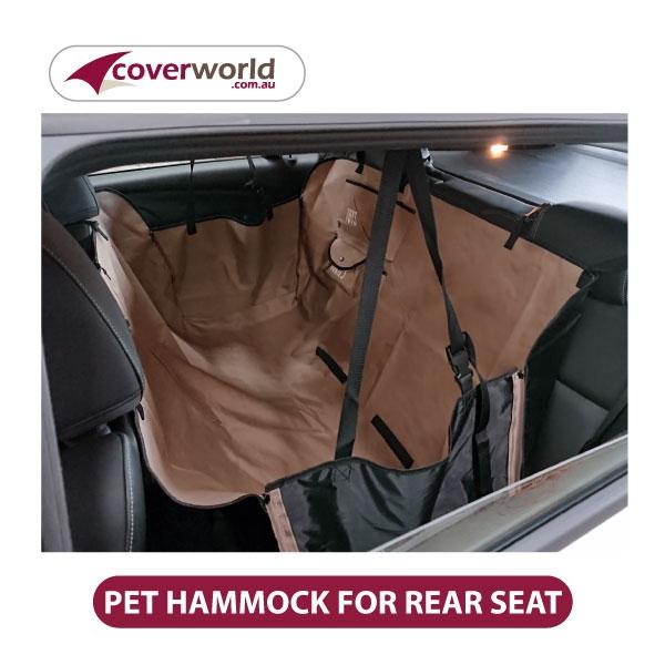 Pet Hammock for Rear Seat