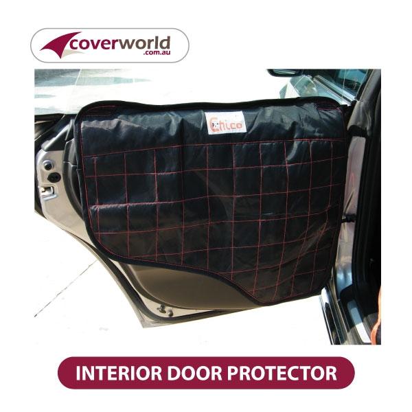 Vehicle Interior Door Protector for Pets