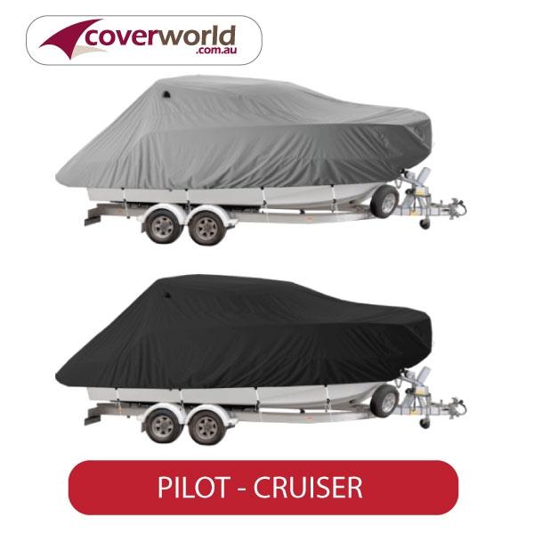 pilot cruiser boat covers online