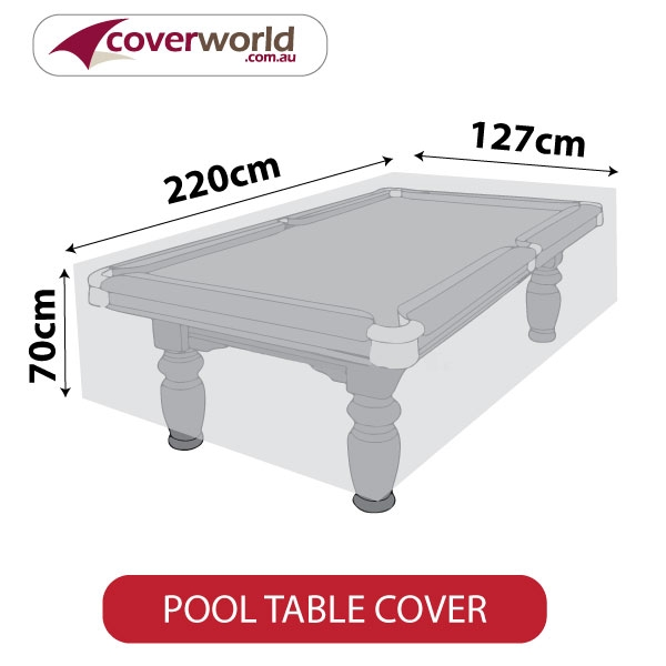 Pool Table Cover - 220cm Length