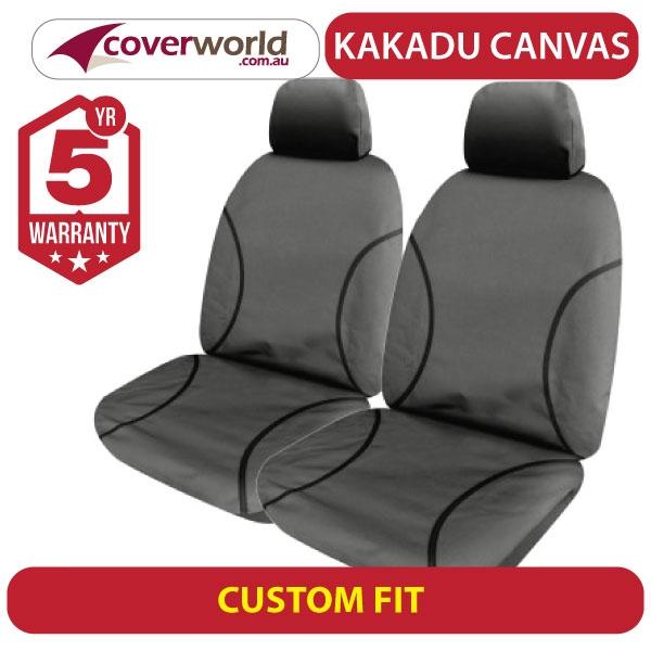 vw multivan kakadu canvas seat covers - t6 series - tdi 340 badge 7 seat van - 2015 to current