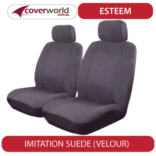 Seat Covers - Kluger Wagon - Custom Fit - Front and Rear Seats - Airbag Compatible