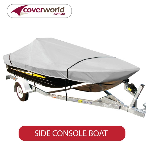 side console fishing boat covers