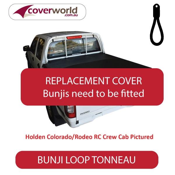 Nissan Navara D40 RX 4WD Dual Cab -  Soft Tonneau Cover - Replacement Bunji