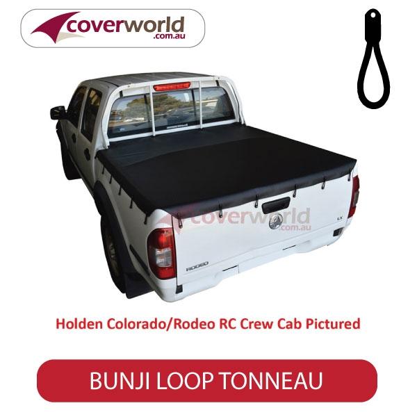 Nissan Navara D40 RX 4WD Dual Cab -  Soft Tonneau Cover - Bunji - New Installation