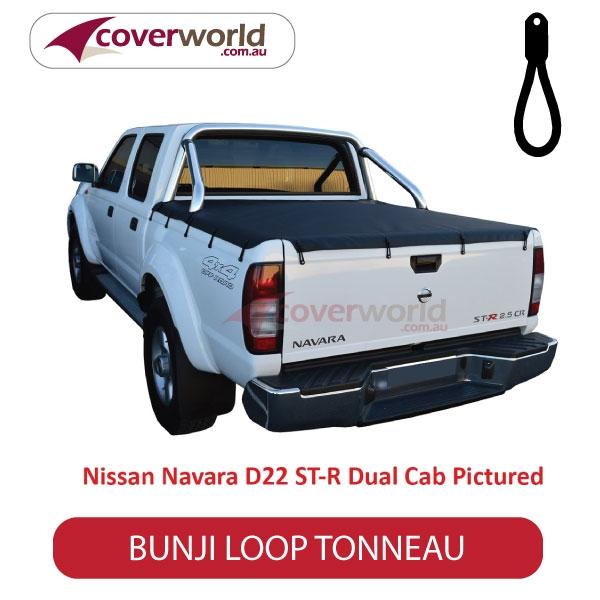 Nissan Navara D40 ST-X Dual Cab -  Soft Tonneau Cover - Bunji - New Installation