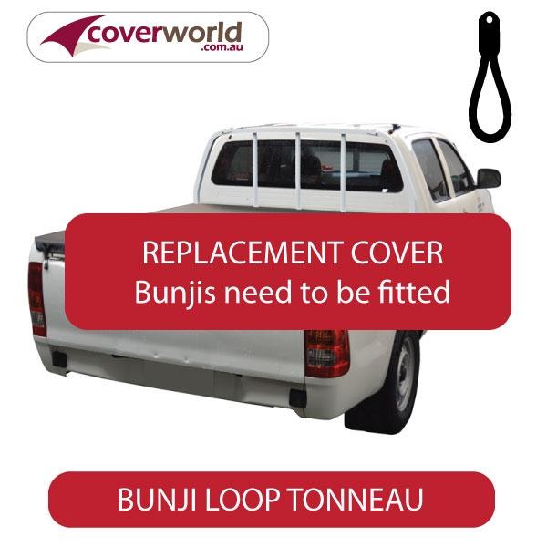Toyota Hilux Dual Cab -  Soft Tonneau Cover - Replacement Bunji