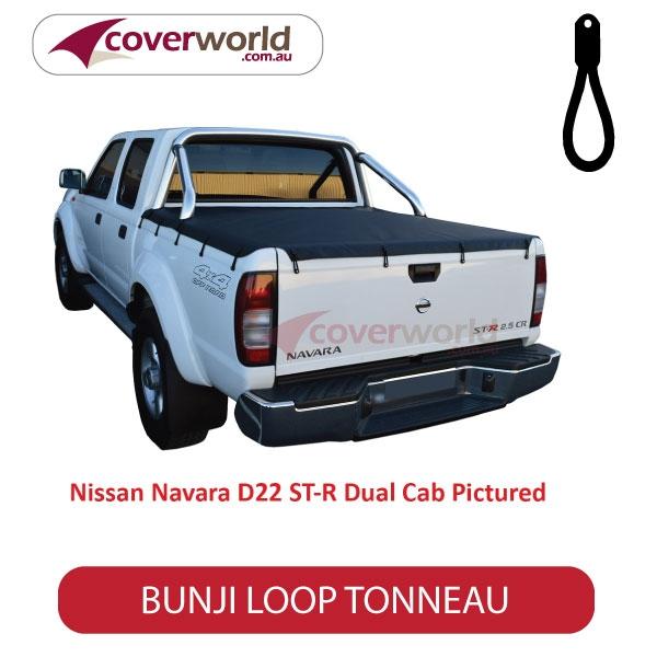 Toyota Hilux Dual Cab SR5 -  Soft Tonneau Cover - Bunji - New Installation