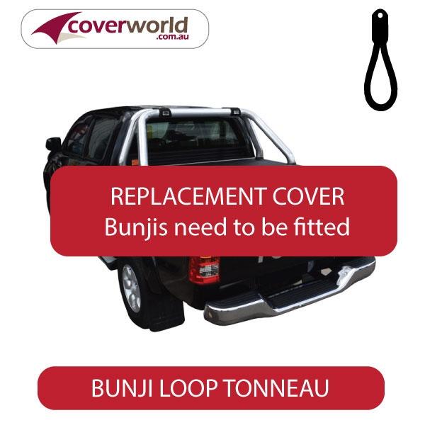 Toyota Hilux SR5 Dual Cab -  Soft Tonneau Cover - Replacement Bunji