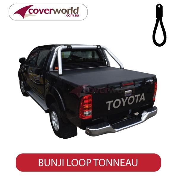 Toyota Hilux SR5 Dual Cab -  Soft Tonneau Cover - Bunji - New Installation