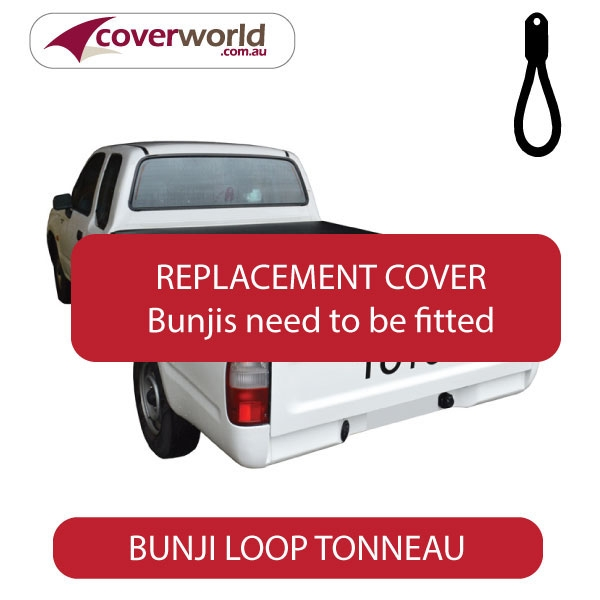 Toyota Hilux Extra Cab -  Soft Tonneau Cover - Replacement Bunji