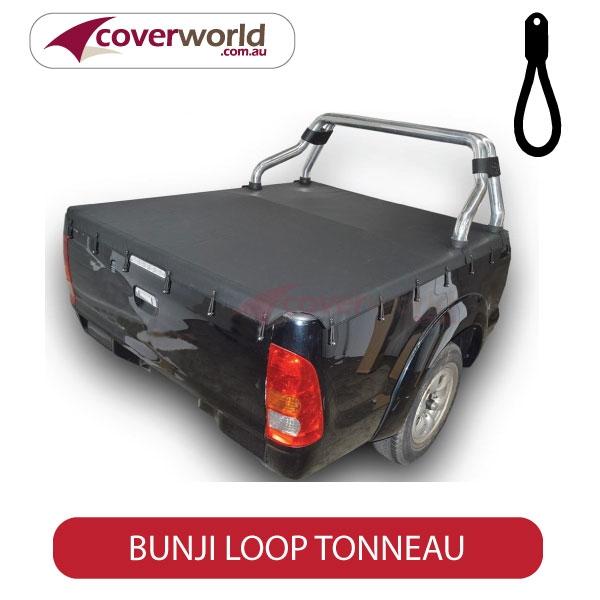 Toyota Hilux Extra Cab -  Soft Tonneau Cover - Bunji - New Installation