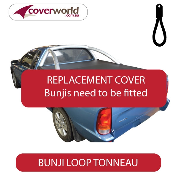 Ford Falcon AU - BA - BF with Sports Bars Tonneau Cover - Bunji - Replacement Cover