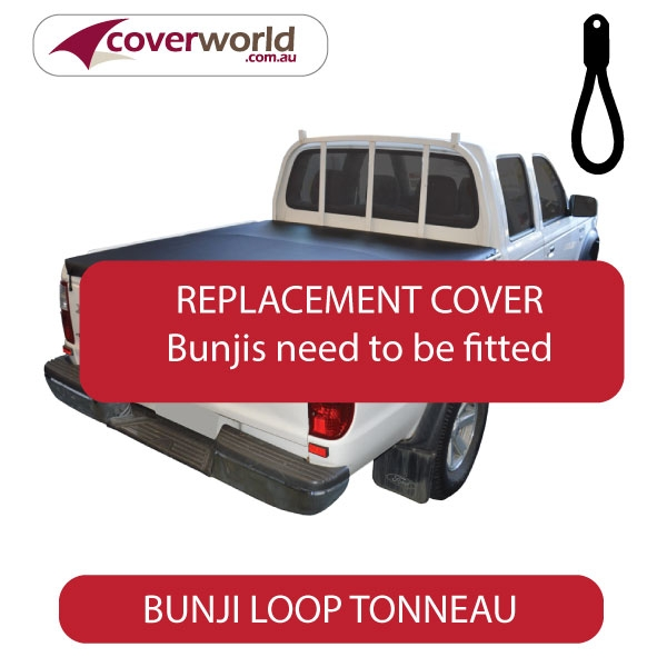 Ford Courier Tonneau Cover - Replacement Bunji