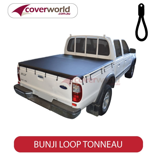 Ford Courier Tonneau Cover - Bunji - New Installation