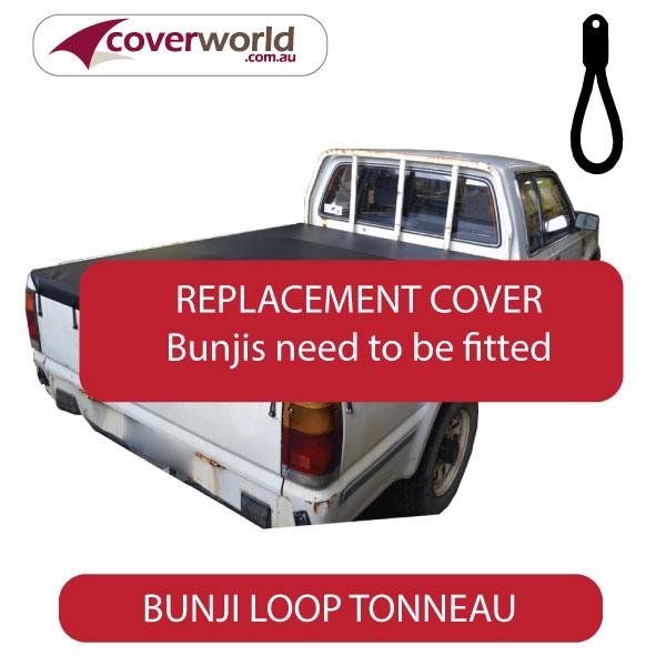 Ford Courier Tonneau Cover Super Cab - Replacement Bunji