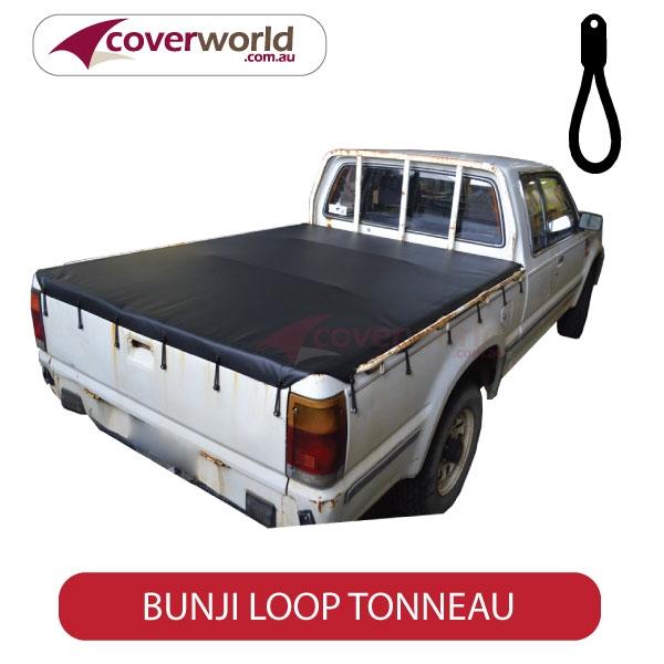 Ford Courier Tonneau Cover Super Cab - Bunji - New Installation