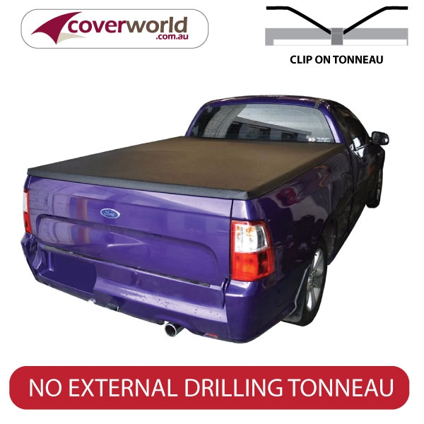 ford falcon fg and fgx tonneau cover- clip on