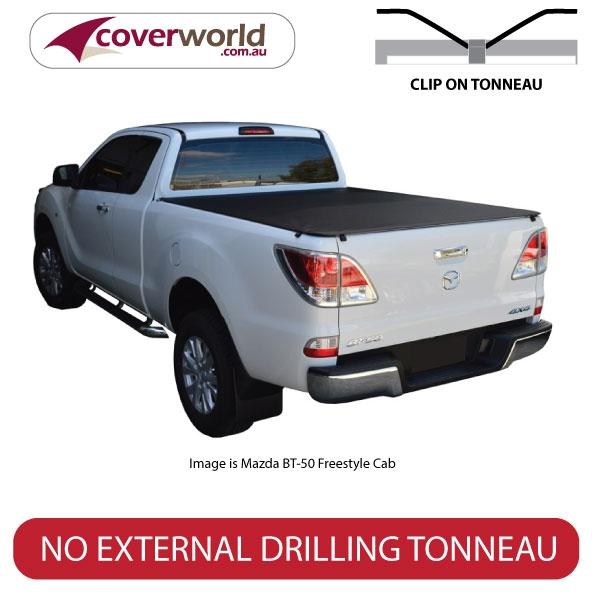 ford ranger tonneau cover super cab - clip on