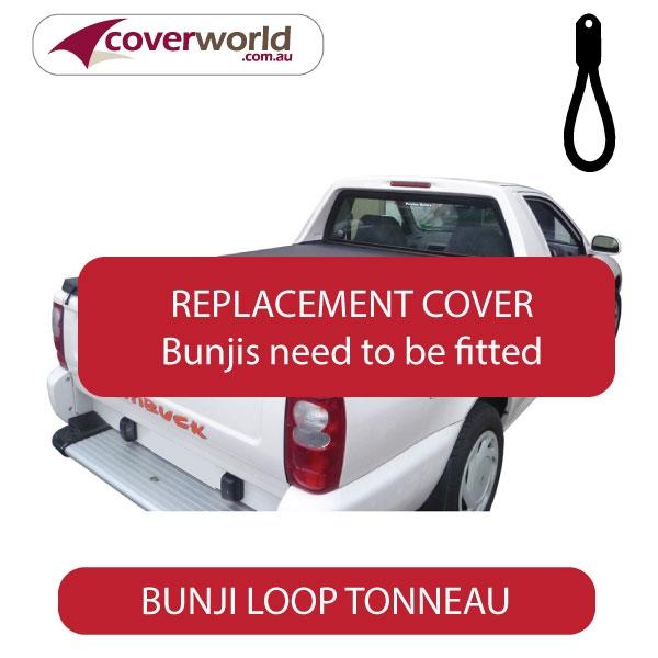 Proton Jumbuck Single Cab -  Soft Tonneau Cover - Replacement Bunji