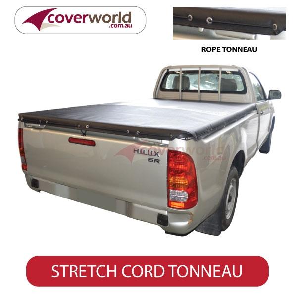 Toyota Hilux Single Cab -  Soft Tonneau Cover - Stretch Cord