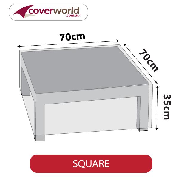 Small Square Cover - 75cm