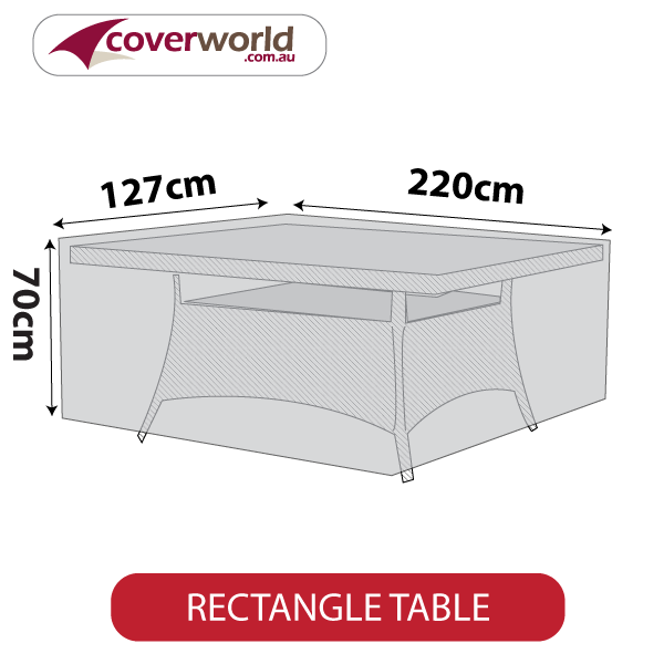 rectangle cover - 215cm length