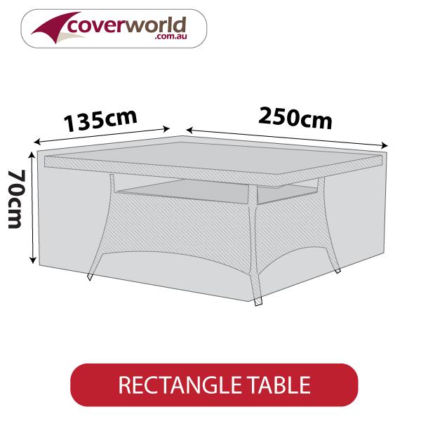 rectangle cover - 245cm length