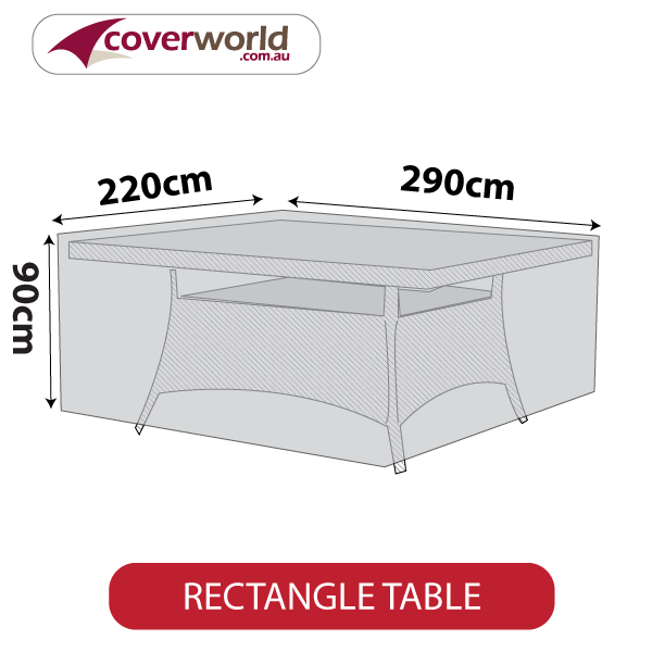 rectangle cover - 290cm length