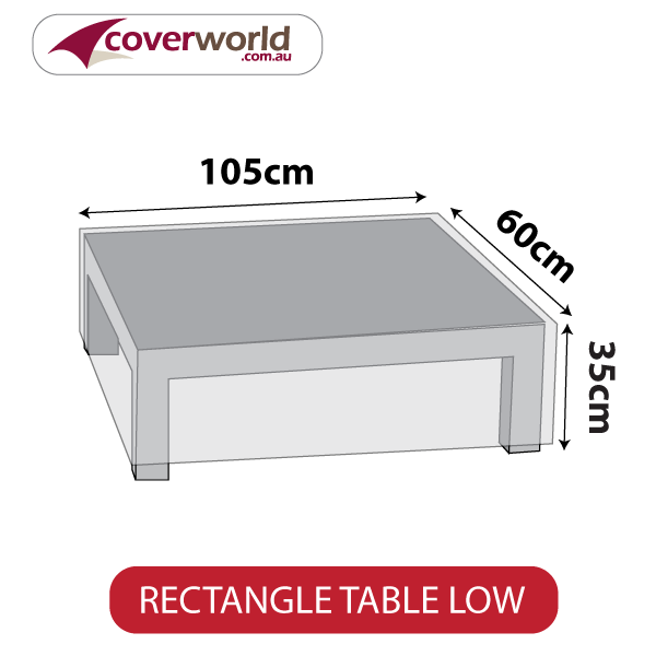 Small Rectangle Cover - 105cm Length