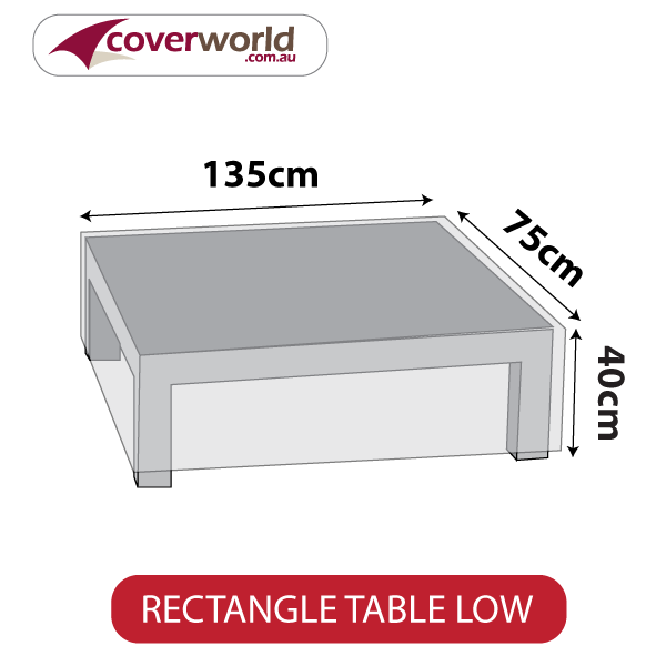 Small Rectangle Cover - 135cm Length