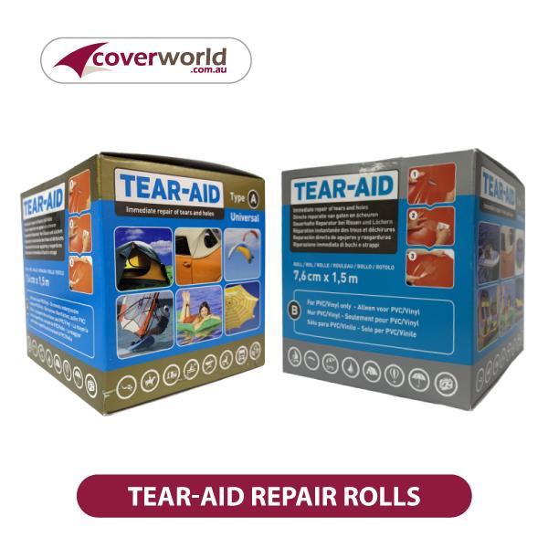 Tear-Aid Repair Rolls - Type A or Type B