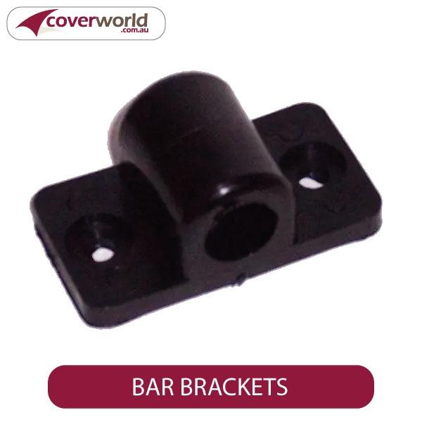 Bar Brackets for Adjustable Support Bars (Pack of 2)