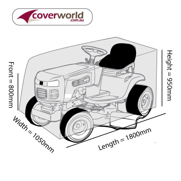 Ride On Mower Cover - 180cm Length