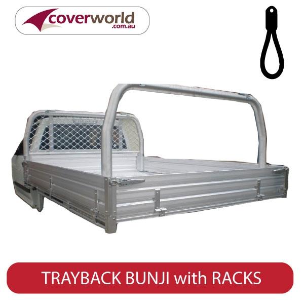 bunji trayback tonneau with racks