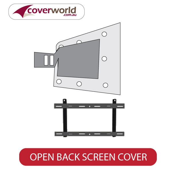 half front tv screen cover