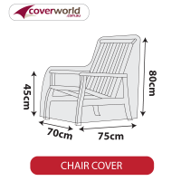 Outdoor Chair Cover - Low - 70cm Length